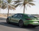 2019 Porsche Panamera GTS (Color: Mamba Green Metallic) Rear Three-Quarter Wallpapers 150x120 (33)
