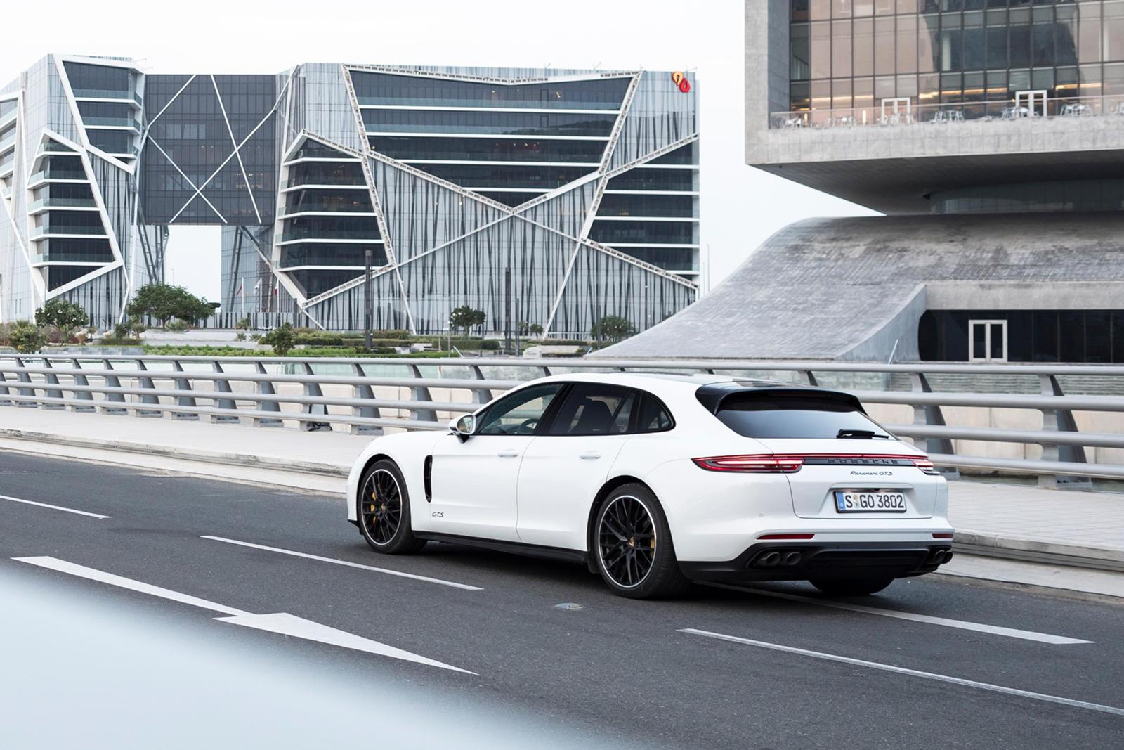 2019 Porsche Panamera Gts Sport Turismo Rear Three Quarter Wallpapers 68 Newcarcars