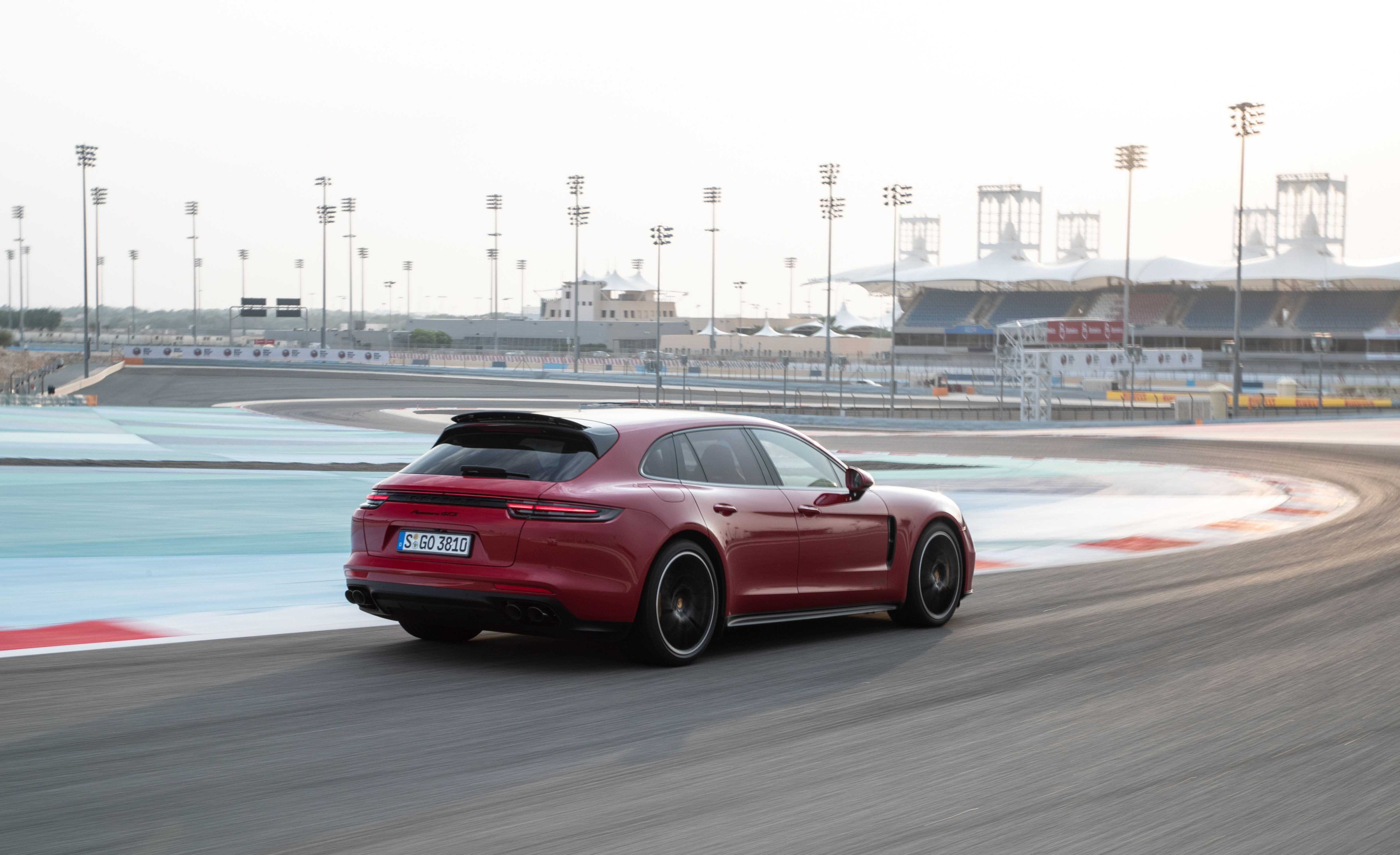 2019 Porsche Panamera GTS Sport Turismo Rear Three-Quarter Wallpapers (8)