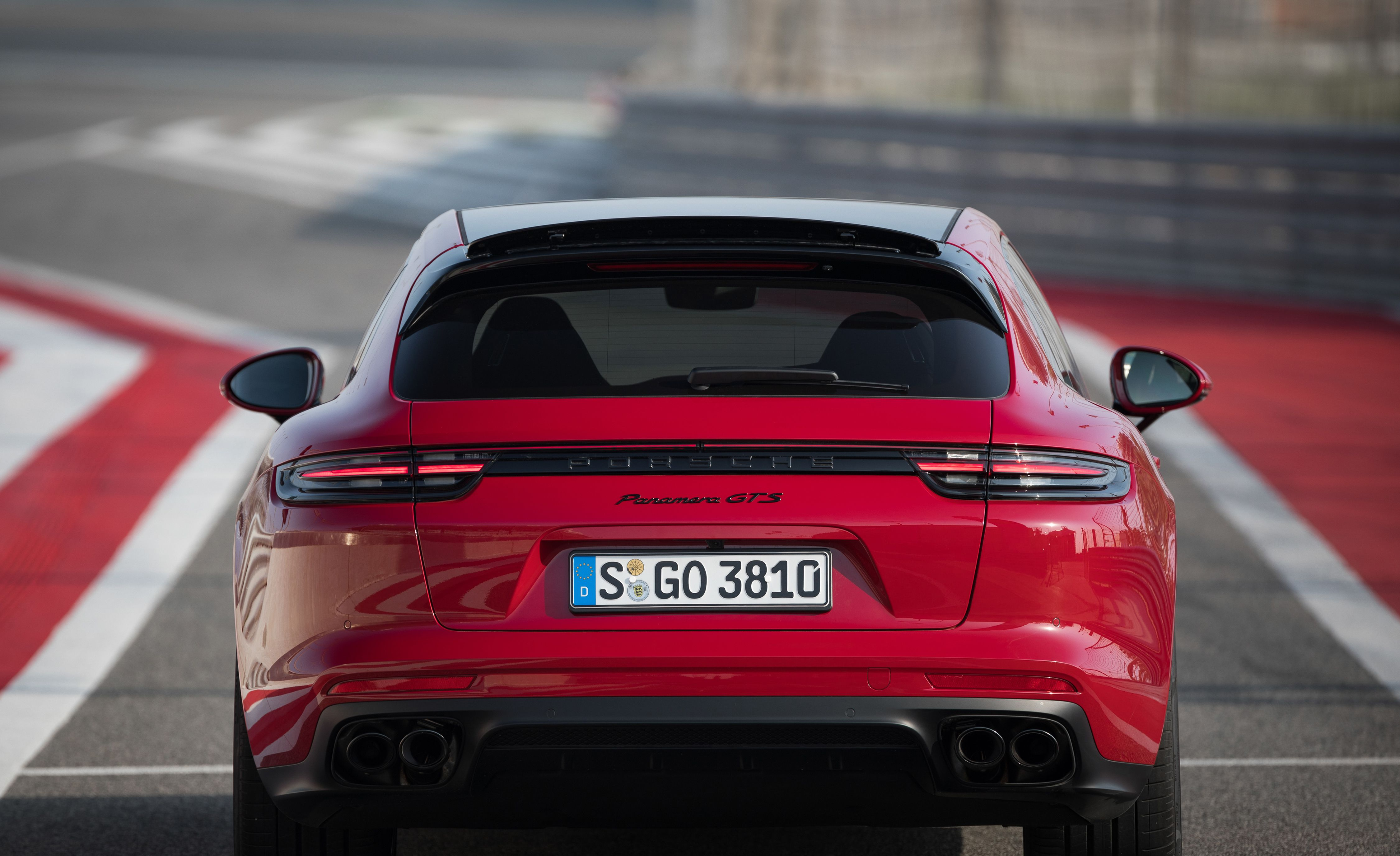 2019 Porsche Panamera GTS Sport Turismo Rear Wallpapers (10)