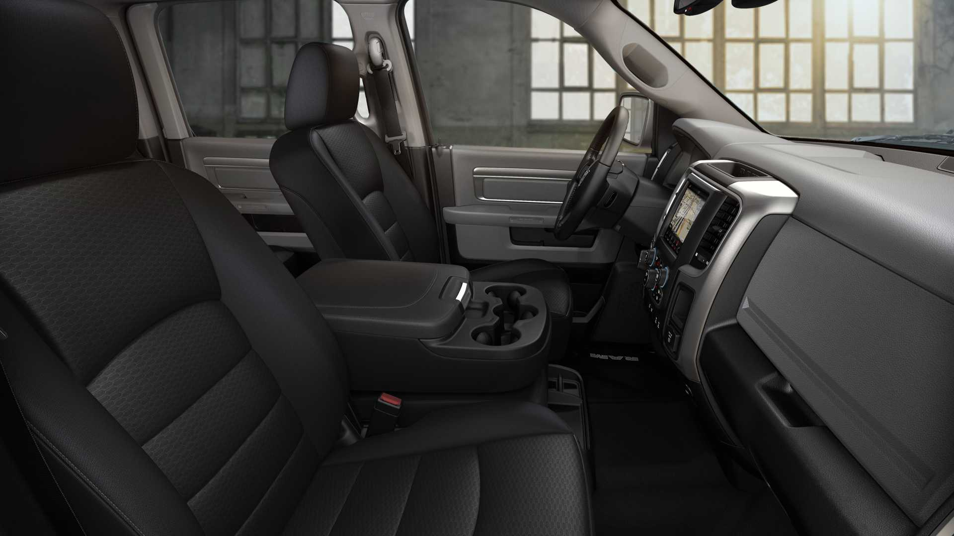 2019 Ram 1500 Classic Warlock Interior Seats Wallpapers (11)