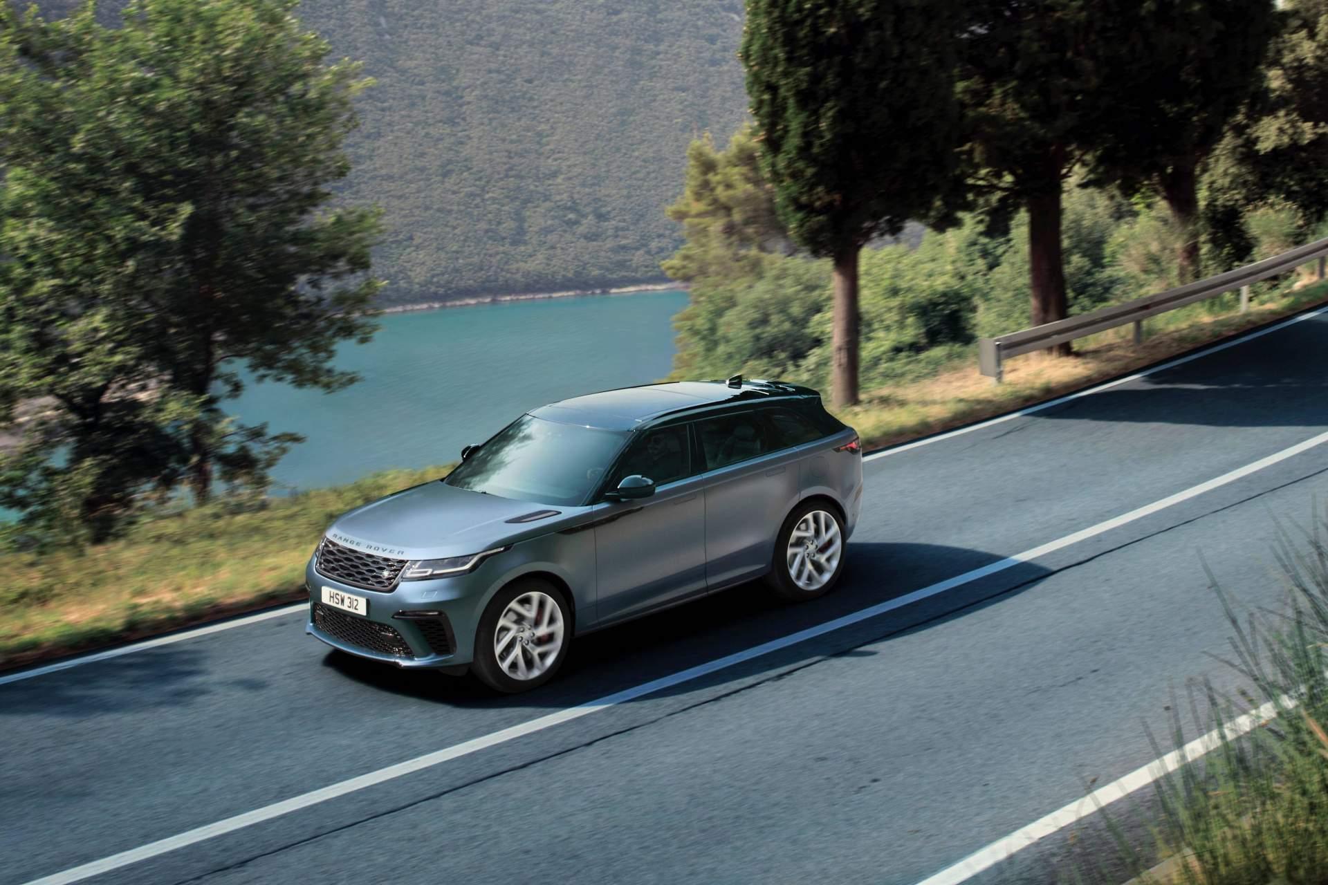 2019 Range Rover Velar SVAutobiography Dynamic Edition Front Three-Quarter Wallpapers (2)