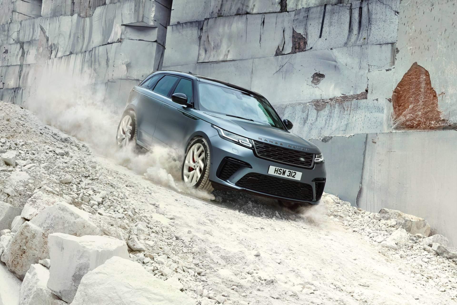 2019 Range Rover Velar SVAutobiography Dynamic Edition Front Three-Quarter Wallpapers (10)