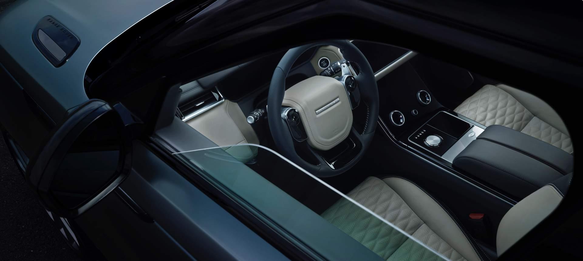 2019 Range Rover Velar SVAutobiography Dynamic Edition Interior Steering Wheel Wallpapers (15)