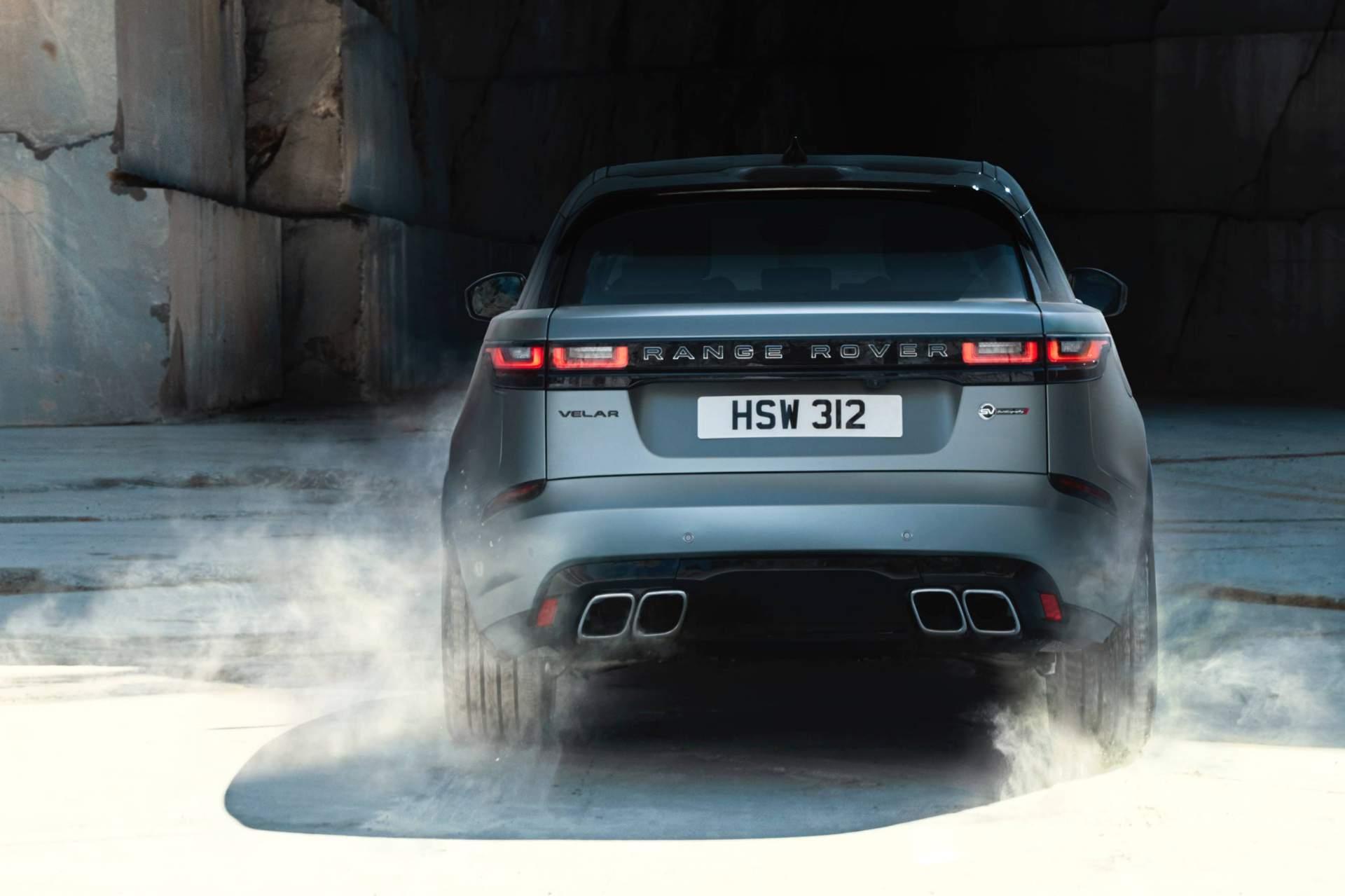 2019 Range Rover Velar SVAutobiography Dynamic Edition Rear Wallpapers (13)