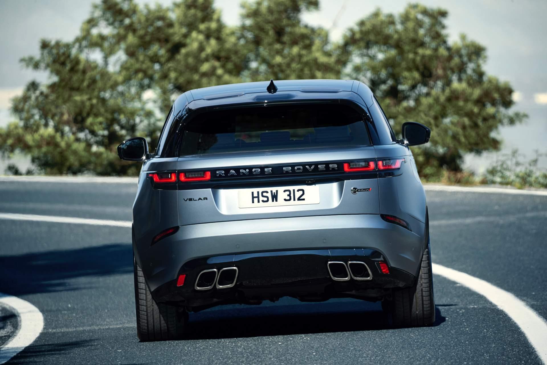 2019 Range Rover Velar SVAutobiography Dynamic Edition Rear Wallpapers (6)