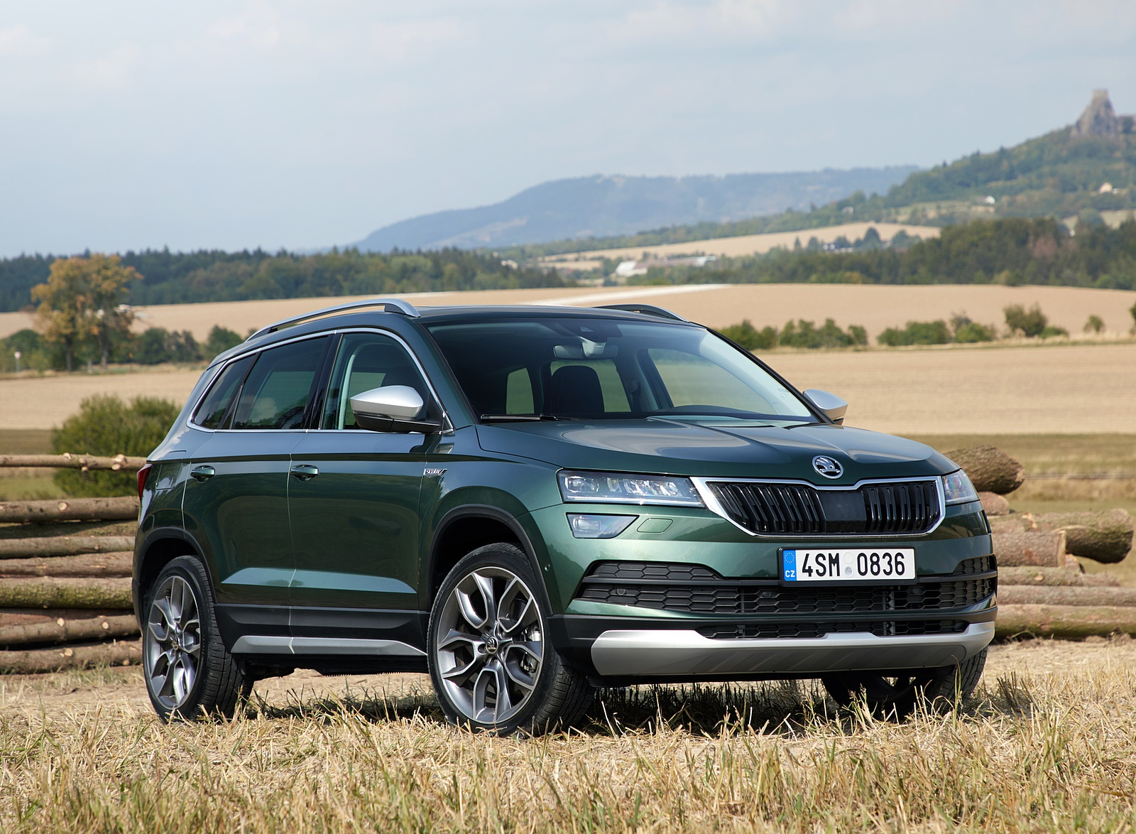 2019 Skoda Karoq Scout Front Three Quarter Wallpapers 13 Newcarcars