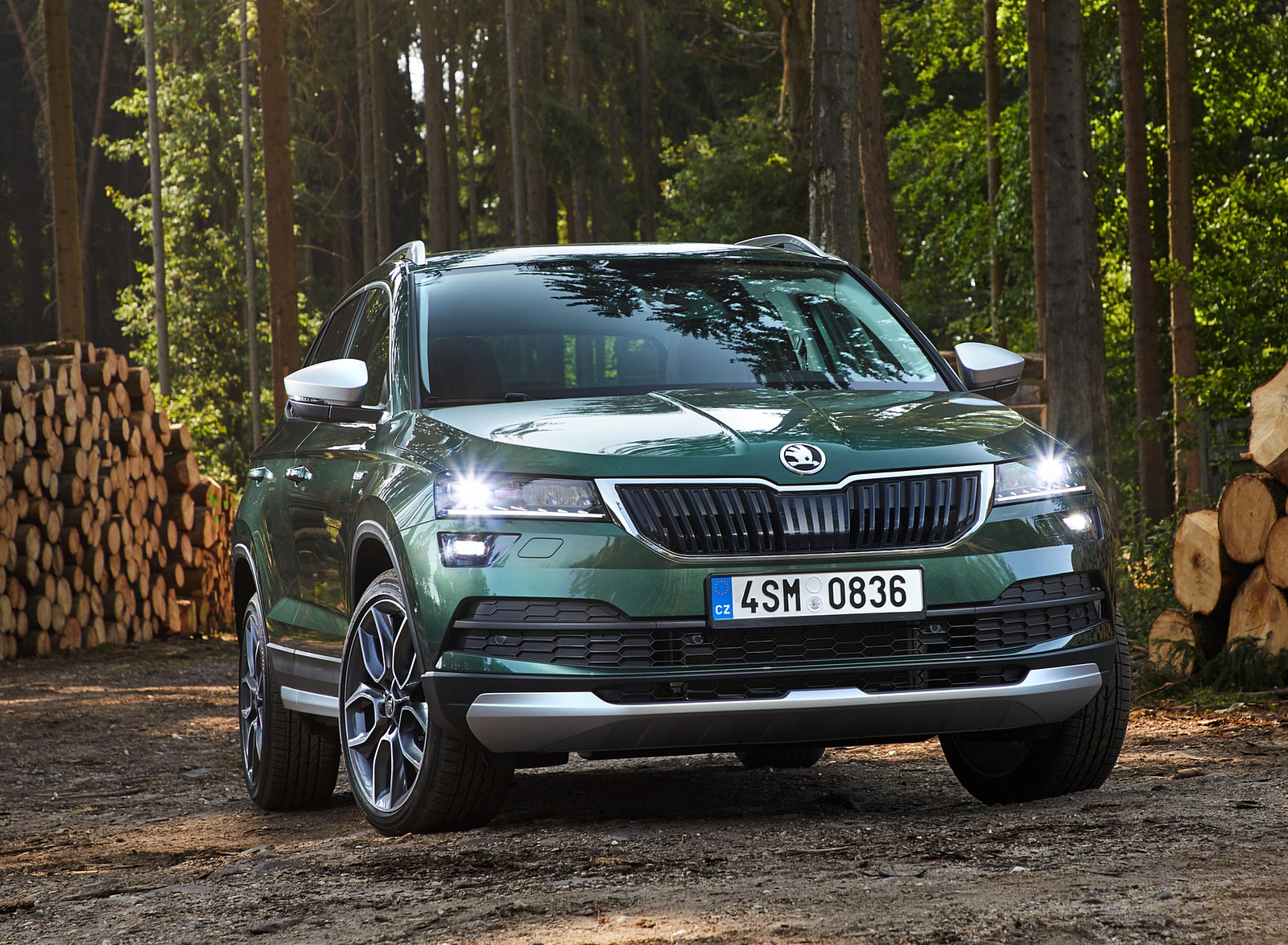 2019 Skoda Karoq Scout Front Wallpapers 14 Newcarcars