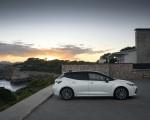 2019 Toyota Corolla Hatchback Hybrid 1.8L White Bitone (EU-Spec) Side Wallpapers 150x120