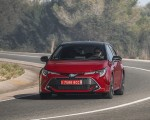 2019 Toyota Corolla Hatchback Hybrid 2.0L Red bitone (EU-Spec) Front Wallpapers 150x120