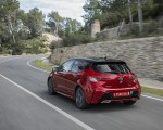 2019 Toyota Corolla Hatchback Hybrid 2.0L Red bitone (EU-Spec) Rear Three-Quarter Wallpapers 150x120 (4)