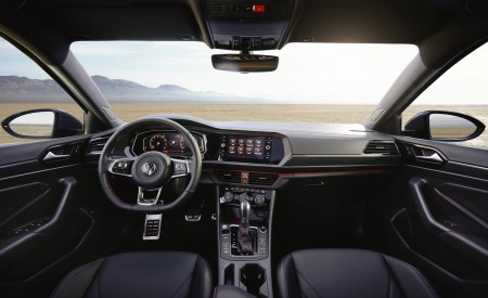 2019 Volkswagen Jetta GLI Interior Cockpit Wallpaper 450x275 (24)