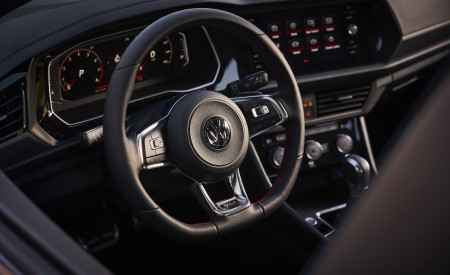 2019 Volkswagen Jetta GLI Interior Steering Wheel Wallpaper 450x275 (22)