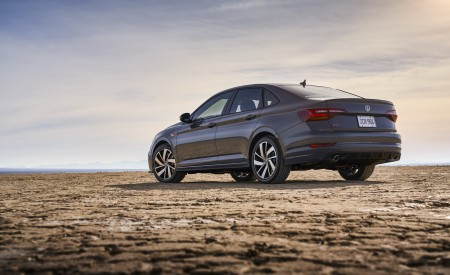 2019 Volkswagen Jetta GLI Rear Three-Quarter Wallpaper 450x275 (9)