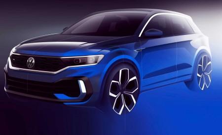 2019 Volkswagen T-Roc R Design Sketch Wallpapers 450x275 (173)