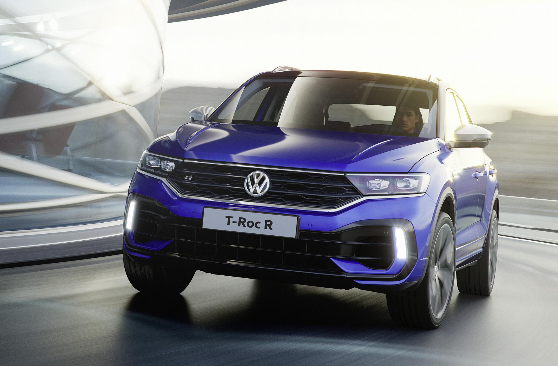 2019 Volkswagen T-Roc R Front Wallpaper (2)