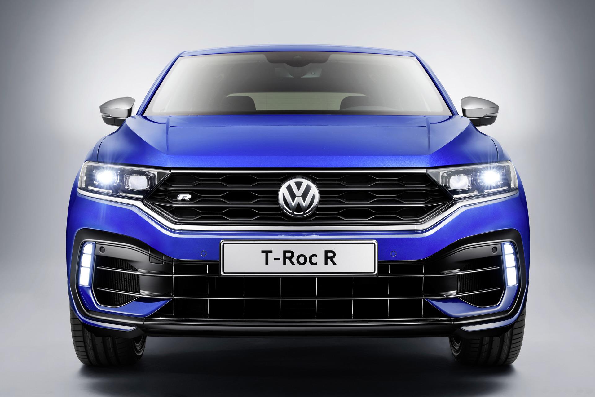 2019 Volkswagen T-Roc R Front Wallpaper (9)