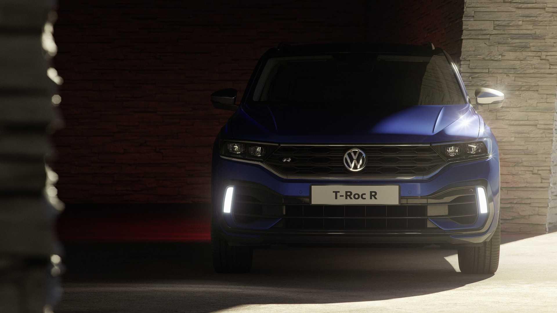 2019 Volkswagen T-Roc R Front Wallpaper (4)
