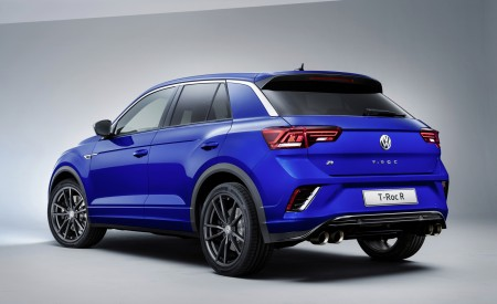 2019 Volkswagen T-Roc R Rear Three-Quarter Wallpapers 450x275 (153)