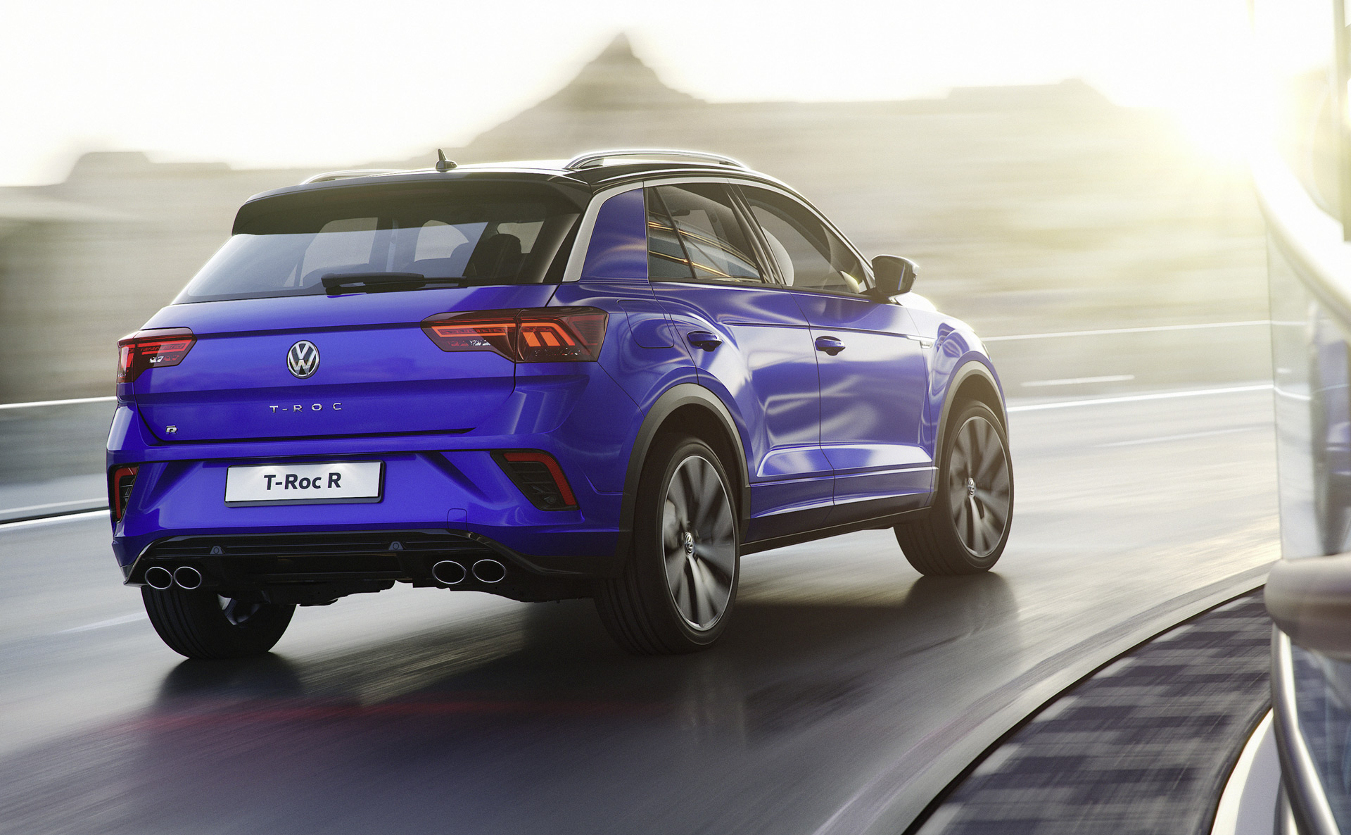 2019 Volkswagen T-Roc R Rear Three-Quarter Wallpaper (3)