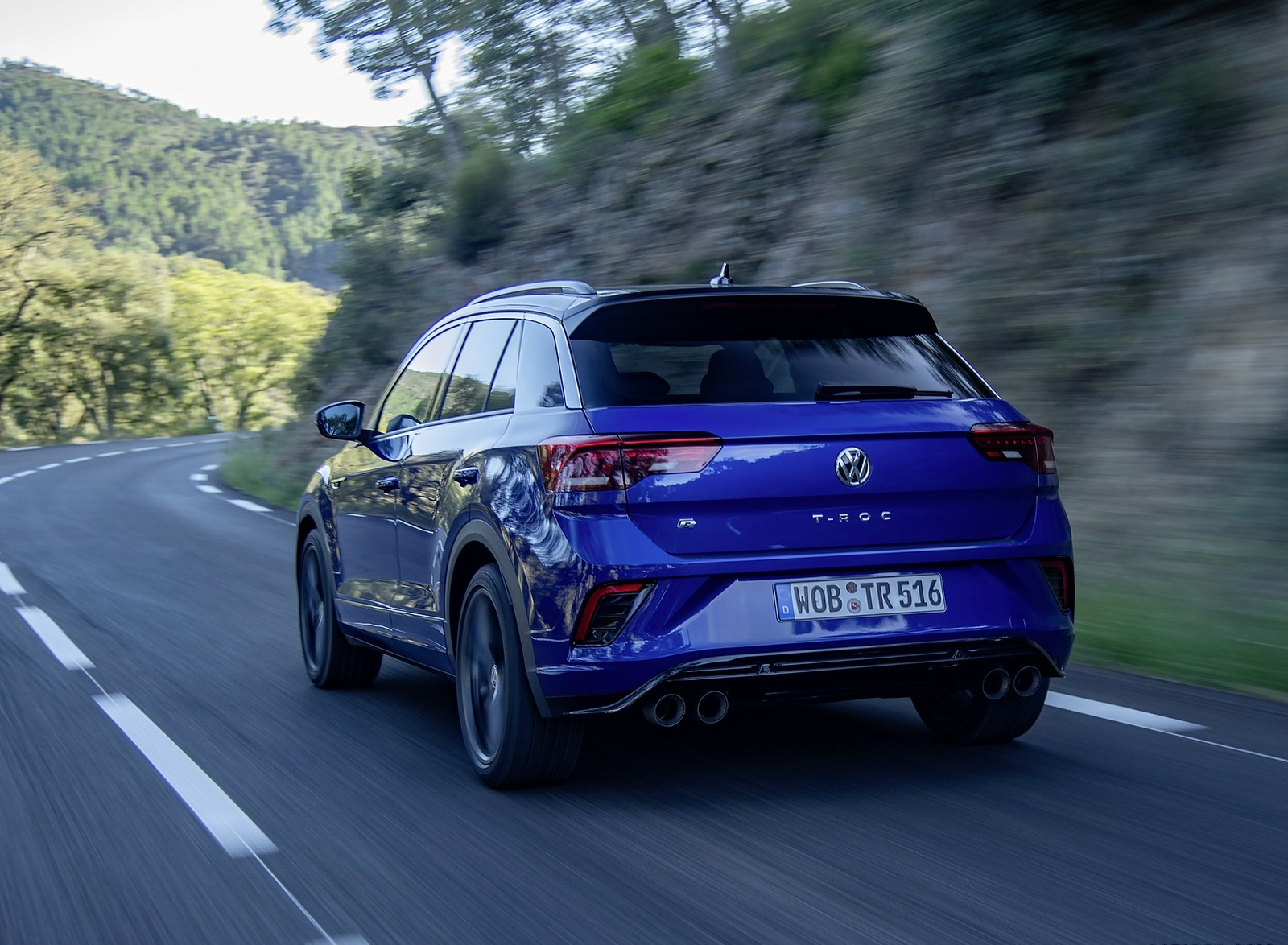 2019 Volkswagen T-Roc R Rear Wallpapers (10)