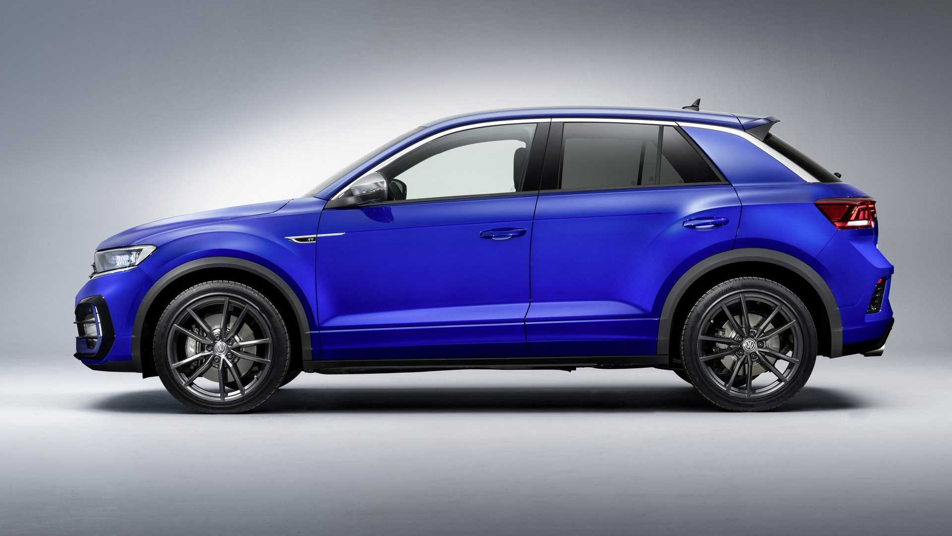 2019 Volkswagen T-Roc R Side Wallpaper (12)