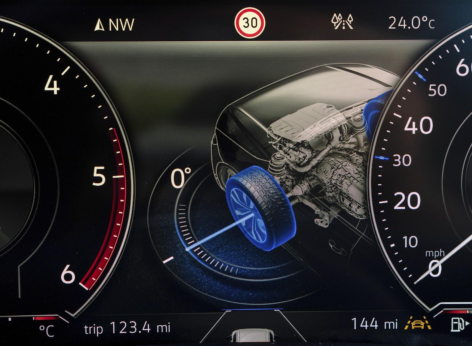 2019 Volkswagen Touareg V6 TDI R-Line (UK-Spec) Digital Instrument Cluster Wallpaper #40 of 43