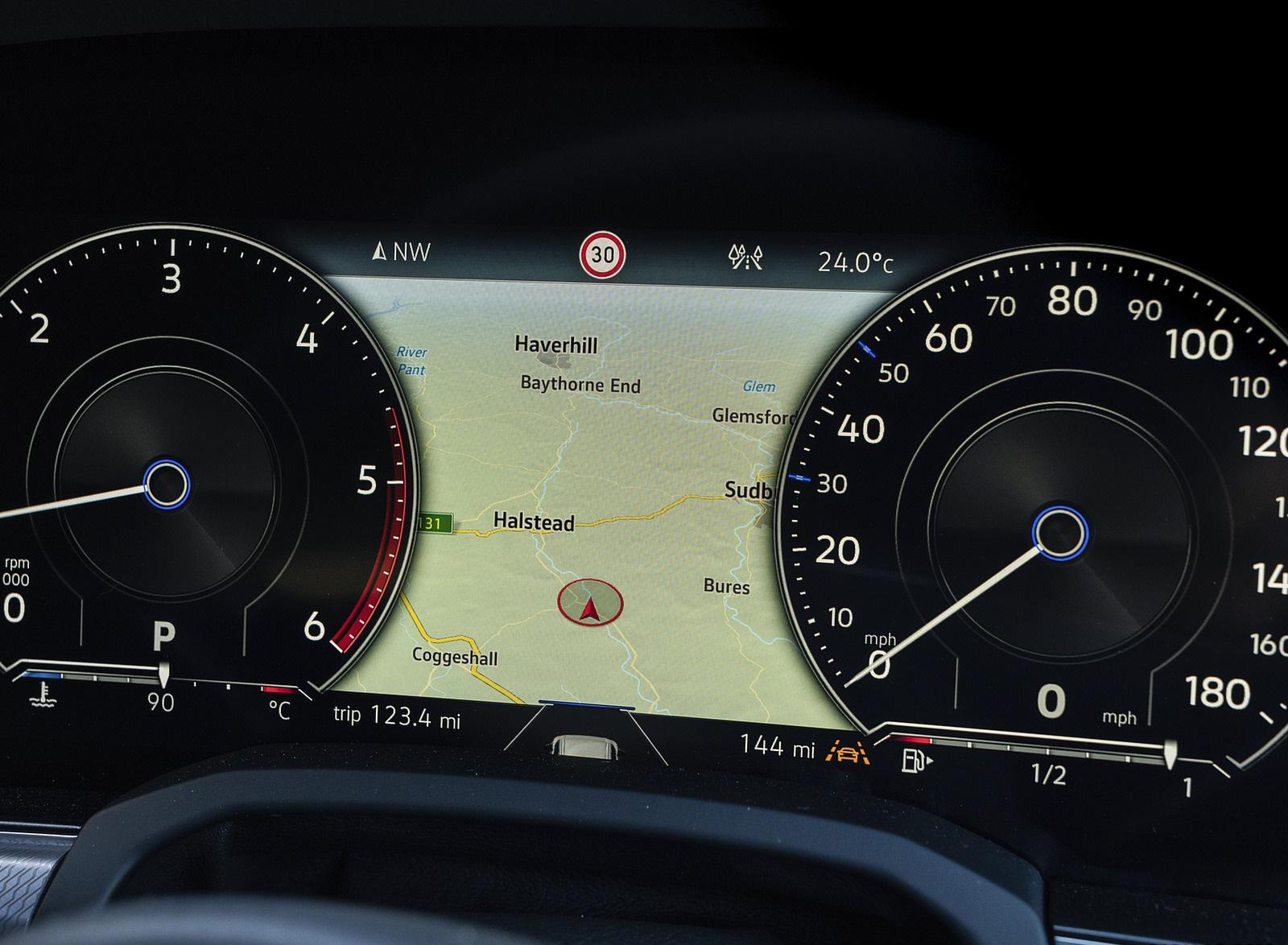 2019 Volkswagen Touareg V6 TDI R-Line (UK-Spec) Digital Instrument Cluster Wallpapers #39 of 43