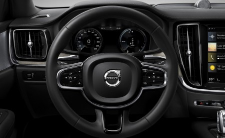 2019 Volvo V60 Cross Country Interior Steering Wheel Wallpaper 450x275 (24)