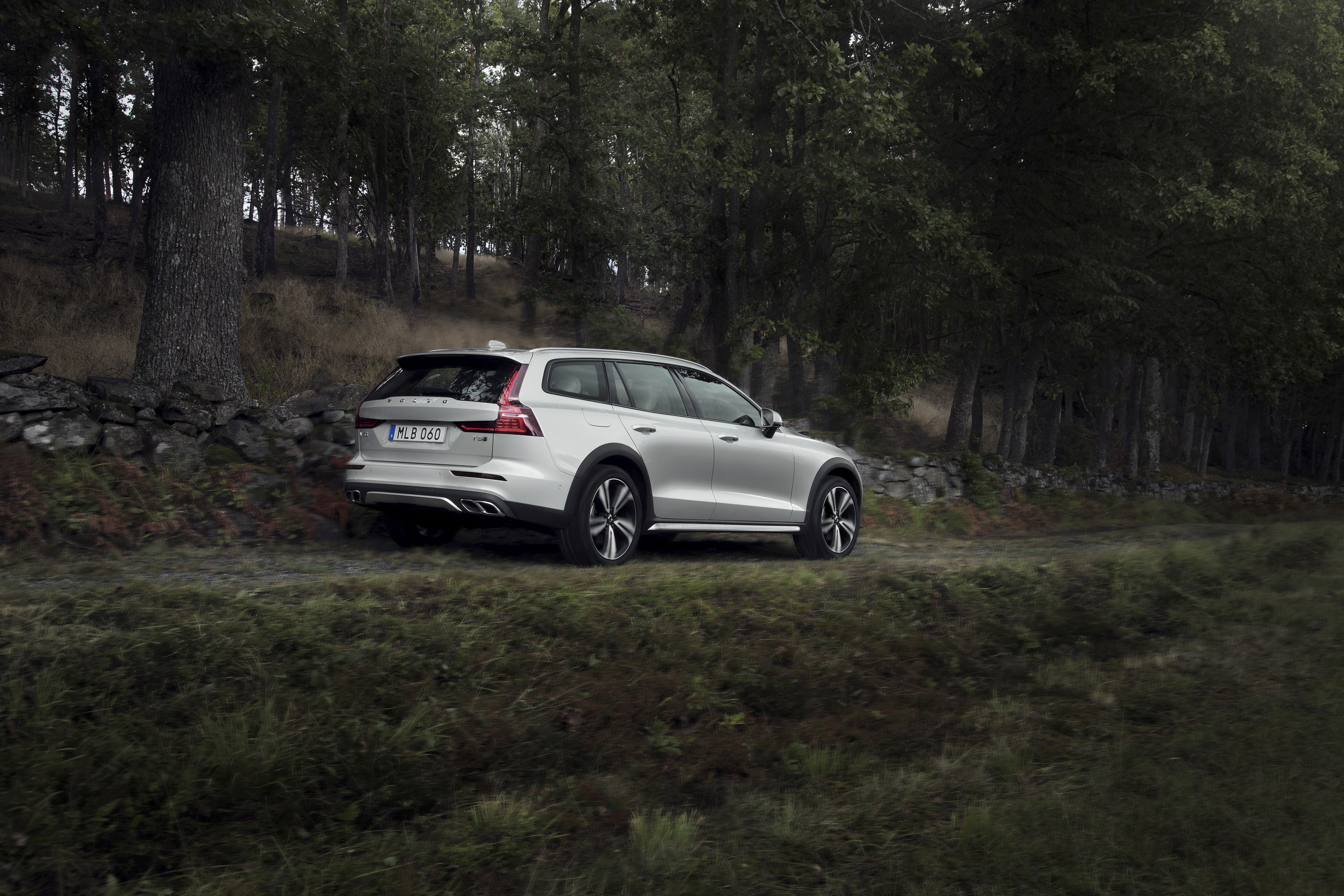 2019 Volvo V60 Cross Country Rear Three-Quarter Wallpapers (9)