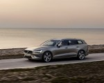 2019 Volvo V60 T6 AWD Inscription (Color: Pebble Grey Metallic) Front Three-Quarter Wallpaper 150x120 (31)