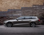 2019 Volvo V60 T6 AWD Inscription (Color: Pebble Grey Metallic) Side Wallpaper 150x120 (41)