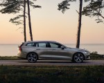 2019 Volvo V60 T6 AWD Inscription (Color: Pebble Grey Metallic) Side Wallpaper 150x120 (26)