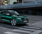 2020 Audi SQ5 TDI (Color: Azores Green Metallic) Front Three-Quarter Wallpapers 150x120 (9)