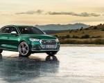 2020 Audi SQ5 TDI (Color: Azores Green Metallic) Front Three-Quarter Wallpapers 150x120 (7)