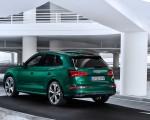 2020 Audi SQ5 TDI (Color: Azores Green Metallic) Rear Three-Quarter Wallpapers 150x120 (12)