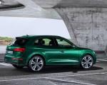 2020 Audi SQ5 TDI (Color: Azores Green Metallic) Rear Three-Quarter Wallpapers 150x120 (11)
