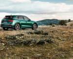 2020 Audi SQ5 TDI (Color: Azores Green Metallic) Rear Three-Quarter Wallpapers 150x120 (3)