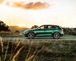 2020 Audi SQ5 TDI (Color: Azores Green Metallic) Side Wallpapers 150x120 (5)