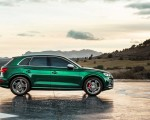 2020 Audi SQ5 TDI (Color: Azores Green Metallic) Side Wallpapers 150x120 (8)