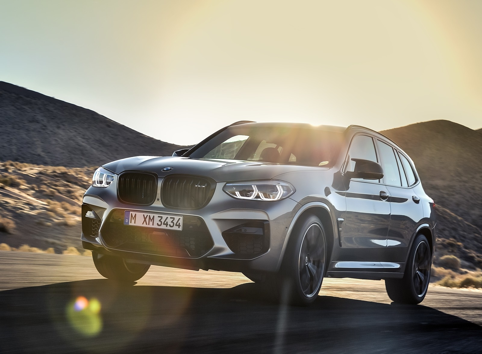 2020 BMW X3 M Competition Front Three-Quarter Wallpapers (2)