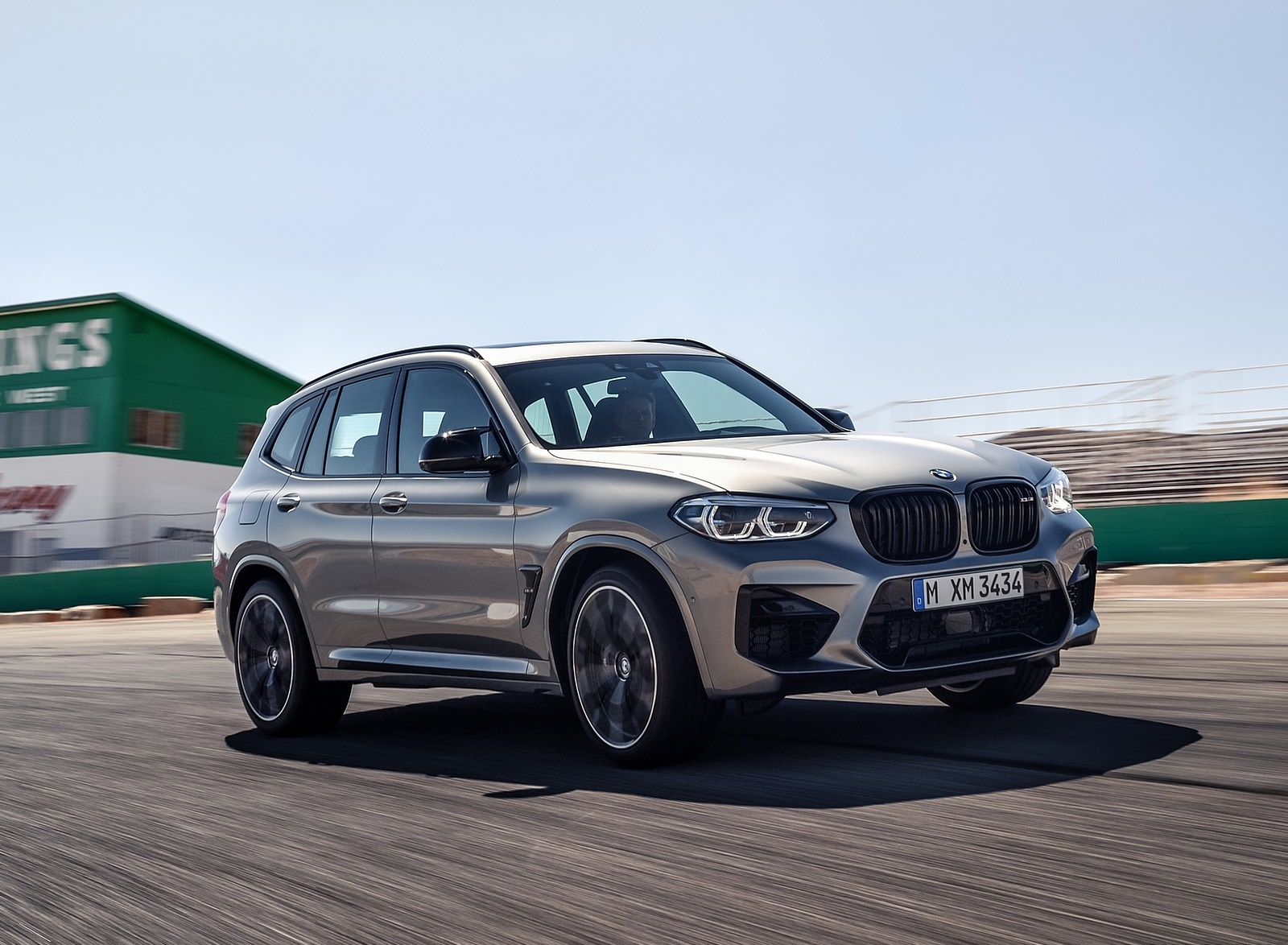 2020 BMW X3 M Competition Front Three-Quarter Wallpapers (9)