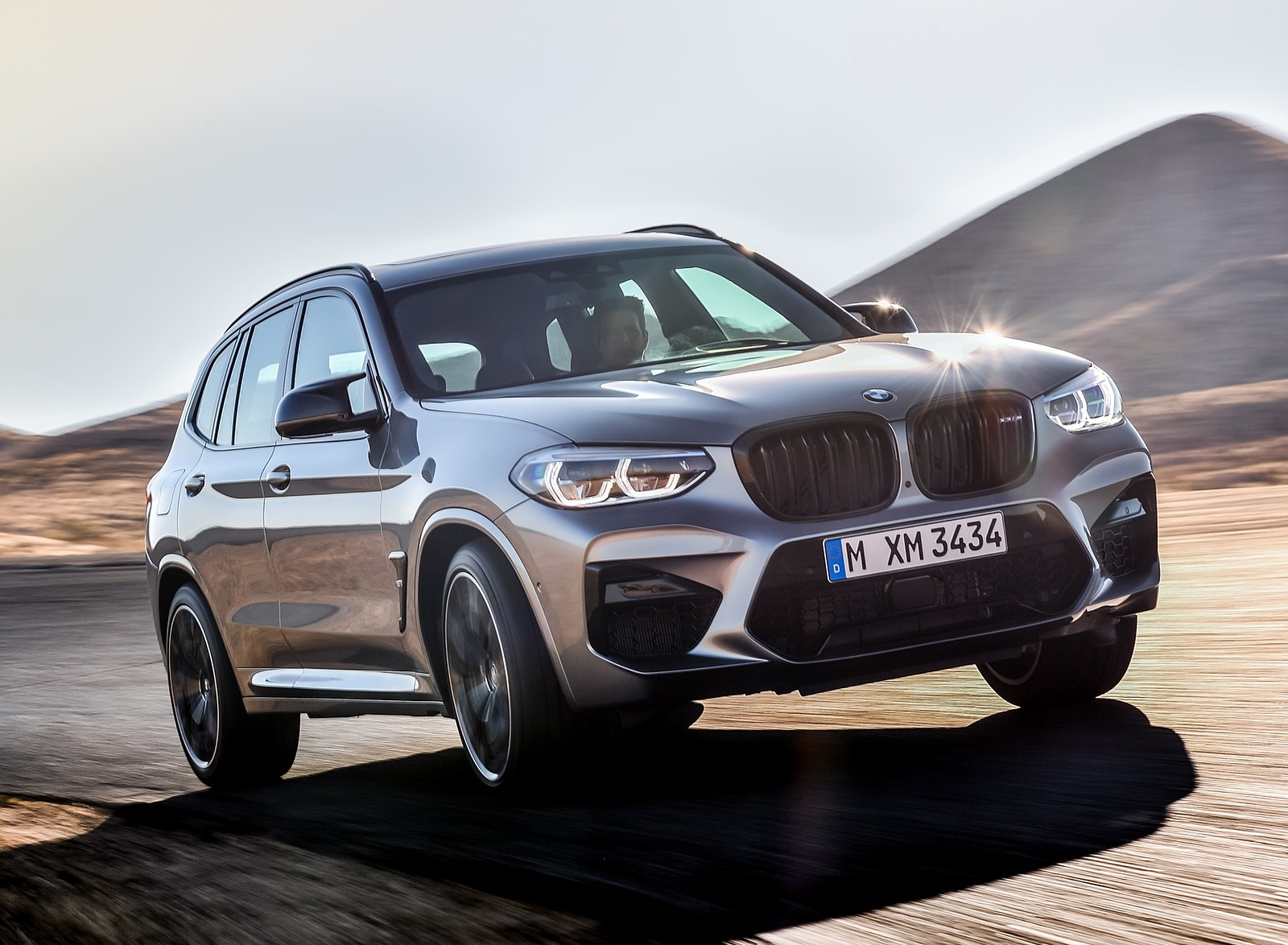 2020 BMW X3 M Competition Front Three-Quarter Wallpapers (3)