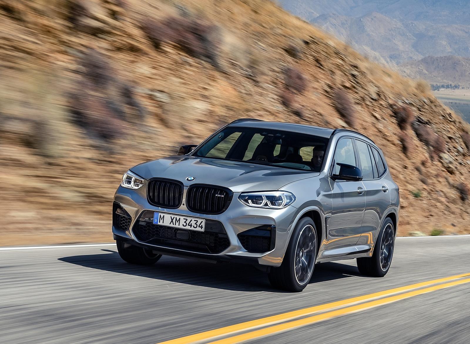 2020 BMW X3 M Competition Front Three-Quarter Wallpaper (15)