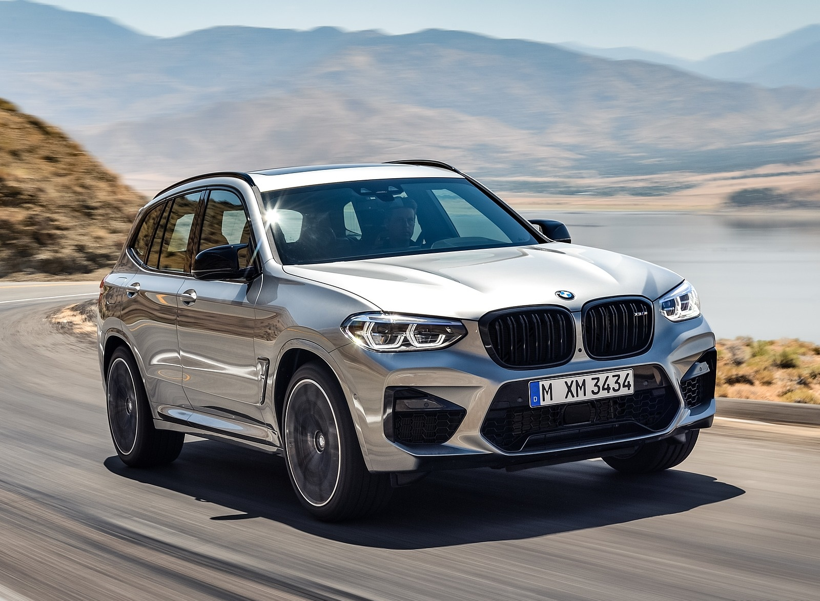 2020 BMW X3 M Competition Front Three-Quarter Wallpapers (10)