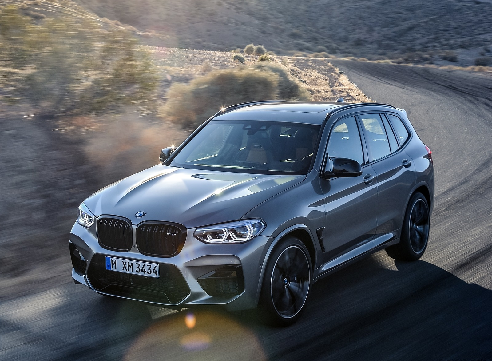 2020 BMW X3 M Competition Front Three-Quarter Wallpapers (4)