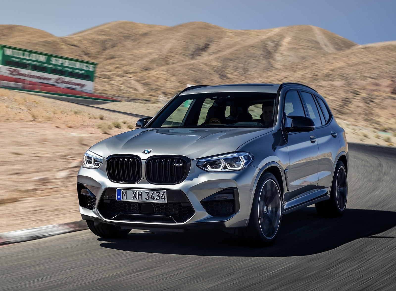 2020 BMW X3 M Competition Front Wallpapers (1)
