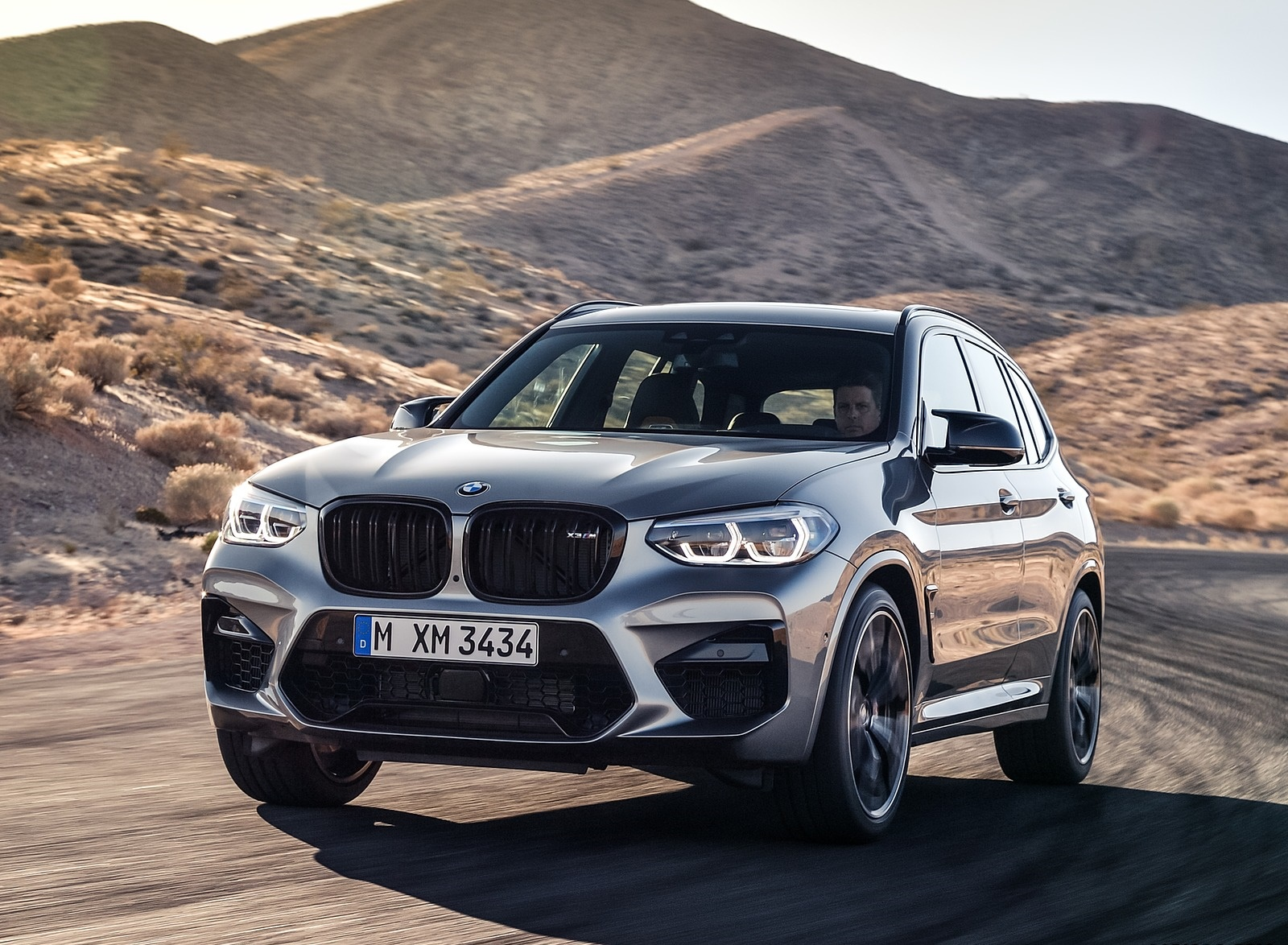 2020 BMW X3 M Competition Front Wallpapers (5)