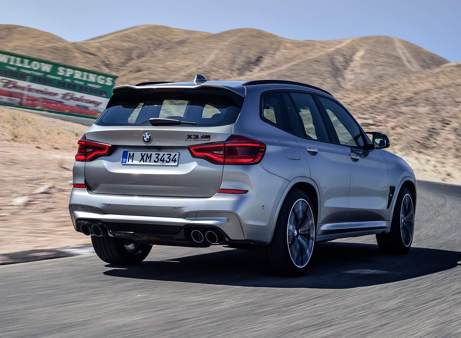 2020 BMW X3 M Competition Rear Three-Quarter Wallpaper (11)