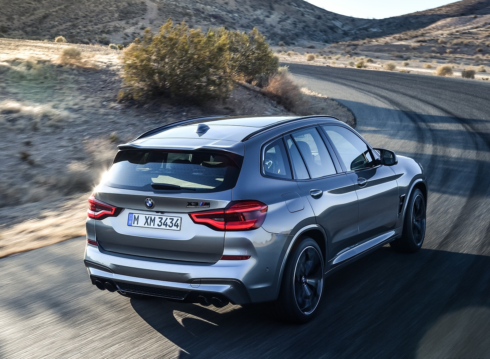 2020 BMW X3 M Competition Rear Three-Quarter Wallpapers (6)